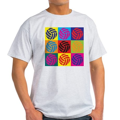 Volleyball Pop Art Light T-Shirt