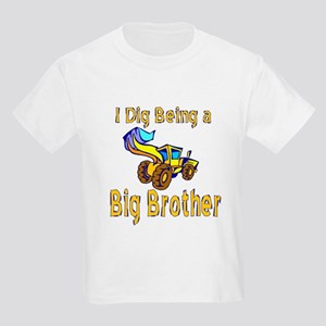 I Dig Big Brother #2 Kids Light T-Shirt