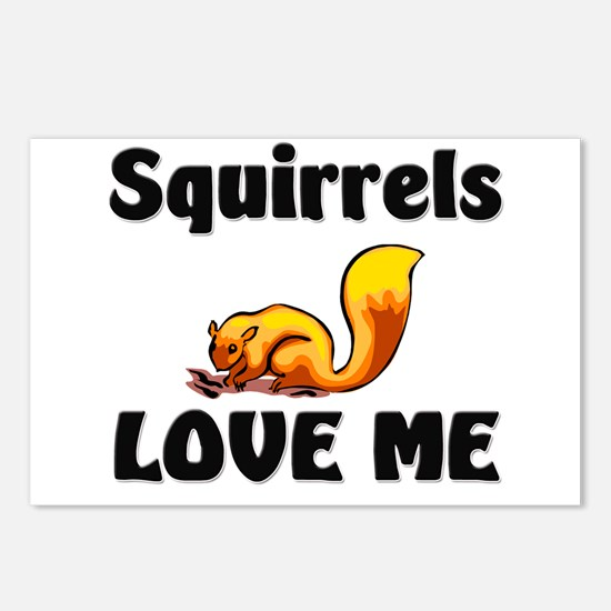 Squirrels Love Me Postcards (Package of 8)
