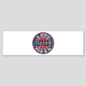 Alfred's All American Bar-b-q Bumper Sticker