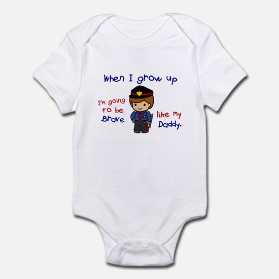 Brave Like My Daddy 1 (Police Officer) Infant Body