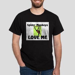 Spider Monkeys Love Me Dark T-Shirt