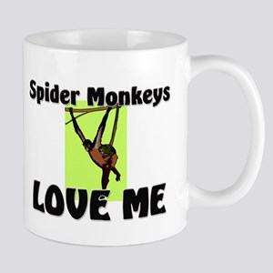 Spider Monkeys Love Me Mug