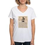 General Douglas MacArthur Women's V-Neck T-Shirt