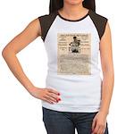 General Douglas MacArthur Women's Cap Sleeve T-Shi