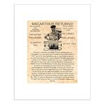 General Douglas MacArthur Small Poster