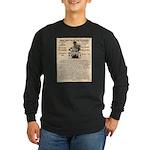 General Douglas MacArthur Long Sleeve Dark T-Shirt