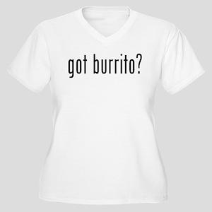 got burrito? Women's Plus Size V-Neck T-Shirt
