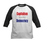 Capitalism the engine of Democracy Kids Baseball J