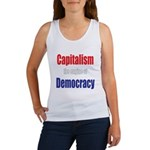 Capitalism the engine of Democracy Women's Tank To