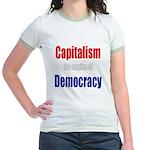 Capitalism the engine of Democracy Jr. Ringer T-Sh