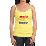 Capitalism the engine of Democracy Jr. Spaghetti T