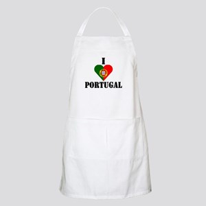 I Love Portugal BBQ Apron