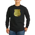 U S Indian Police Long Sleeve Dark T-Shirt