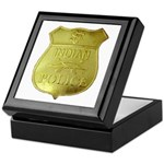 U S Indian Police Keepsake Box