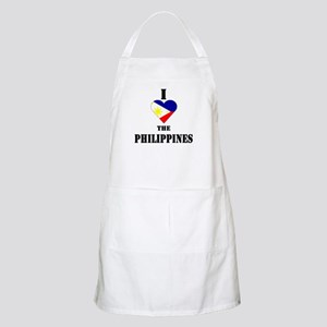 I Love The Philippines BBQ Apron