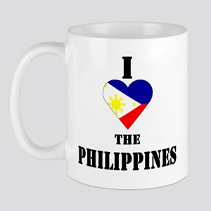 I Love The Philippines Mug