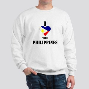 I Love The Philippines Sweatshirt