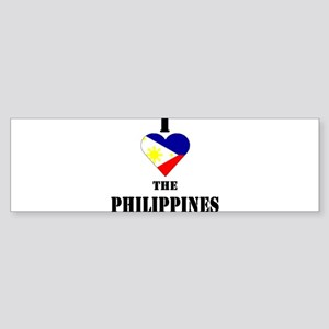 I Love The Philippines Bumper Sticker