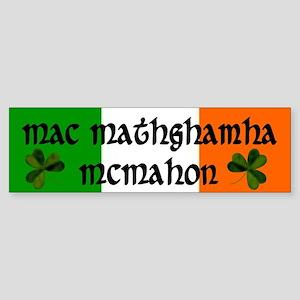 McMahon in Irish and English Bumper Sticker