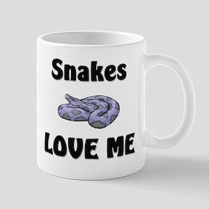 Snakes Love Me Mug