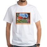 Speeding Slugs White T-Shirt