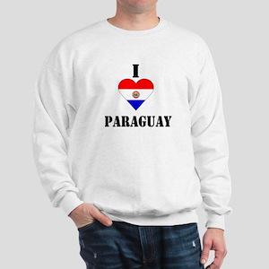 I Love Paraguay Sweatshirt