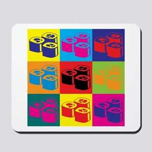 Sushi Pop Art Mousepad