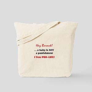 Hey Barack - baby Tote Bag