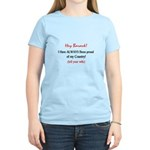 Hey Barack - I'm proud Women's Light T-Shirt
