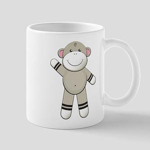 Hello Sock Monkey Mug