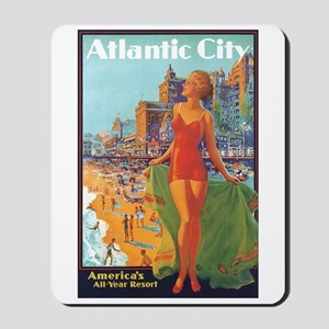 Atlantic City NJ Mousepad