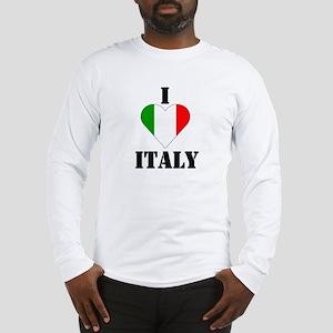 I Love Italy Long Sleeve T-Shirt