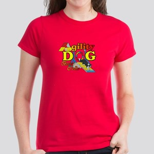 Border Collie Agility Women's Dark T-Shirt