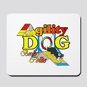 Border Collie Agility Mousepad