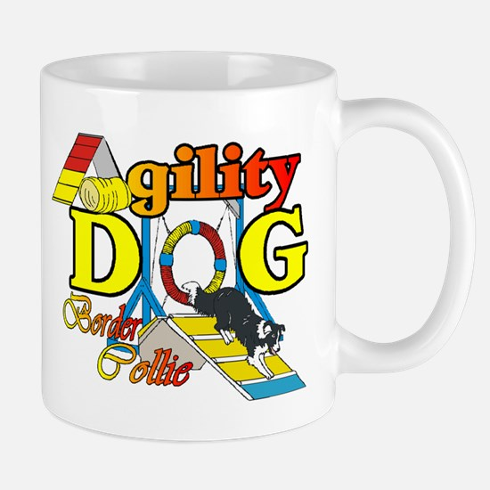 Border Collie Agility Mug