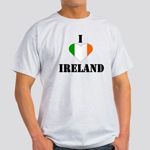 I Love Ireland Ash Grey T-Shirt