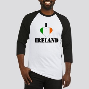 I Love Ireland Baseball Jersey