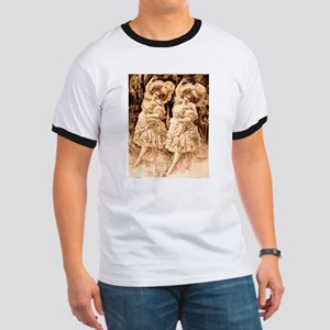 Dancing Girls Vaudeville Ringer T