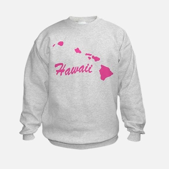 Pink Hawaii Sweatshirt