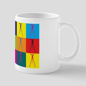 Surveying Pop Art Mug
