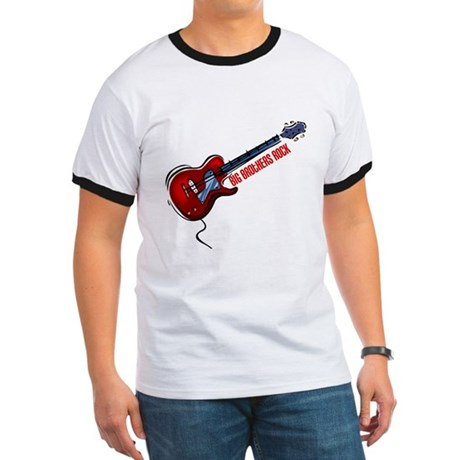 Big Brothers Rock (Red) Ringer T