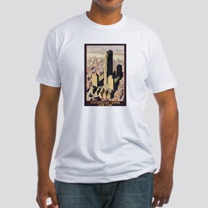 Rockefeller Center NYC Fitted T-Shirt