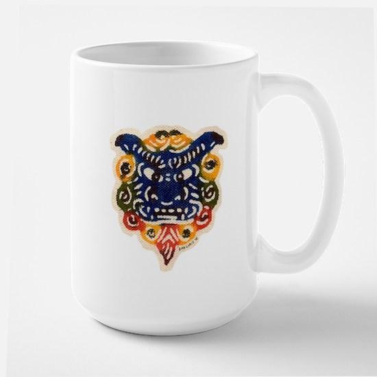 Shisa Bingata Large Mug