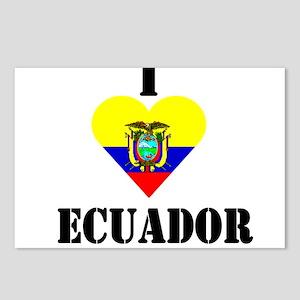I Love Ecuador Postcards (Package of 8)