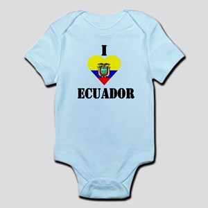 I Love Ecuador Infant Creeper