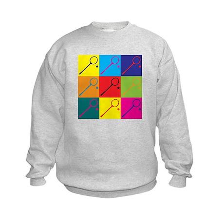 Squash Pop Art Kids Sweatshirt