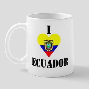 I Love Ecuador Mug