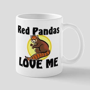 Red Pandas Love Me Mug
