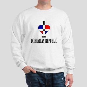 I Love The Dominican Republic Sweatshirt